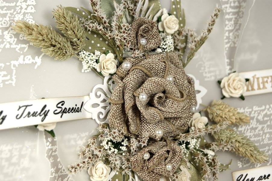 How to make a hessian ribbon rose flower anna marie designs for How to make hessian flowers