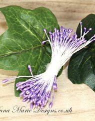 mini stamens - lilac