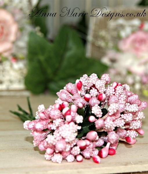 mixed flower pink