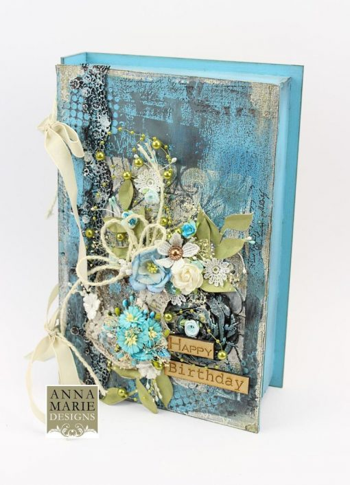 3d Mdf Book Box Anna Marie Designs