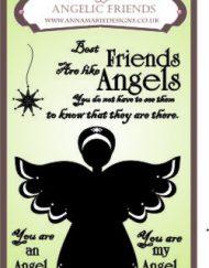Angelic Friends Stamp Set 1