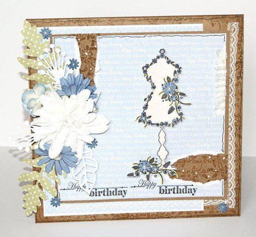 Blooming Figurine Stamp set