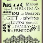 Christmas Background Stamp Set1