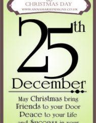 Christmas Day Stamp Set