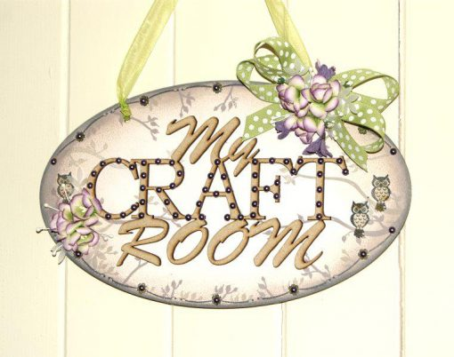 MY CRAFT ROOM PLAQUE 1
