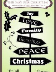 This Way For Christmas Stamp Set 1