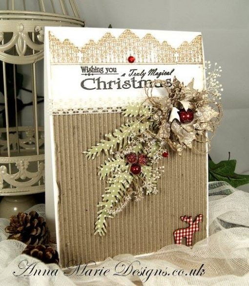 christmas background stamp