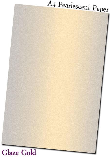 glazed gold pearl