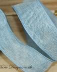 hessian-ribbon-bright-blue
