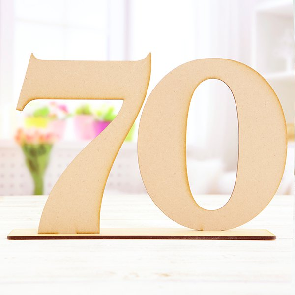 70 number stand numbers