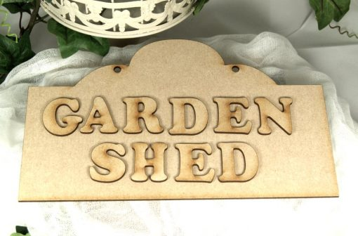 wooden sign plaque