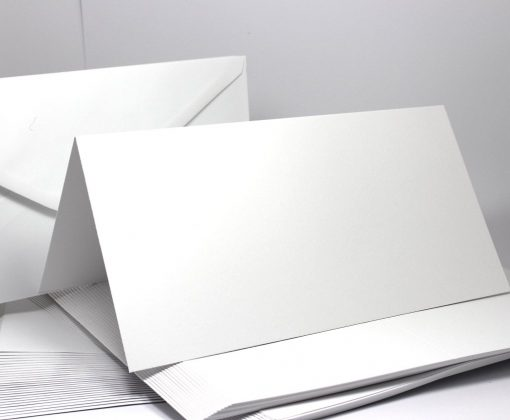 12 x 6 inch cards and envelopes