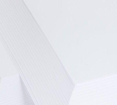 White Card Linen