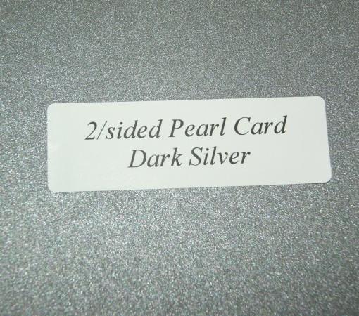 dark silver pearl paper 2 side