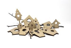 mdf bird houses