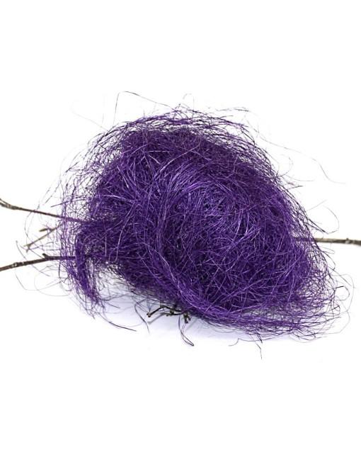 Purpule Natural fibre