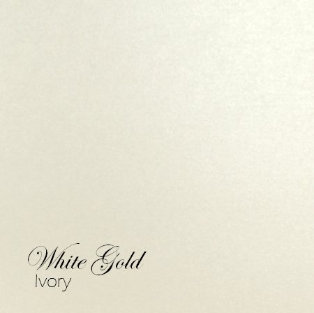 white gold paper