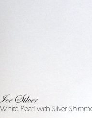 ice silver pearl paper