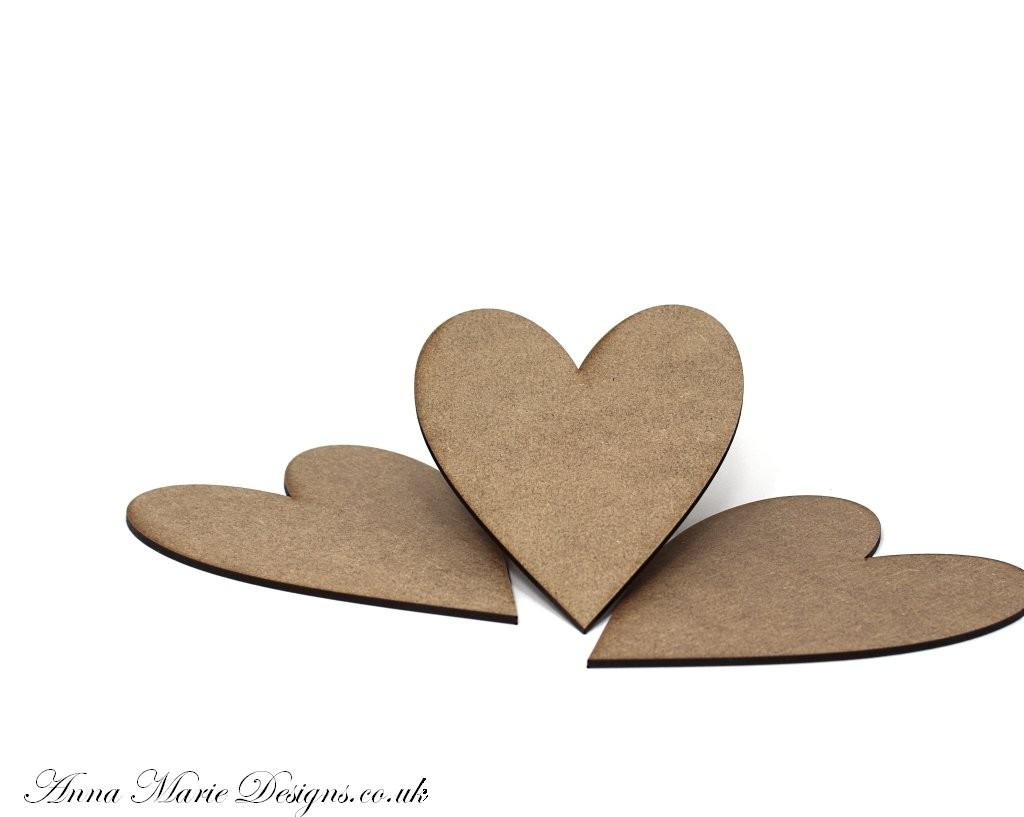 Heart Plaques PK 3