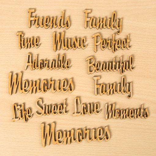 wooden phrases