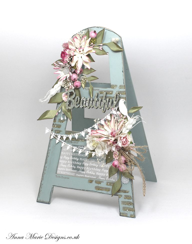 3d mdf step ladder stand anna marie designs for Where can i buy rainbow roses in the uk