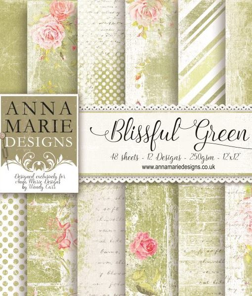 BLISSFUL GREEN cover12x12