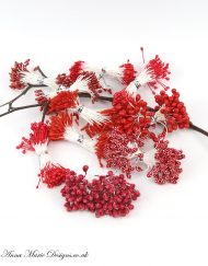 red stamens