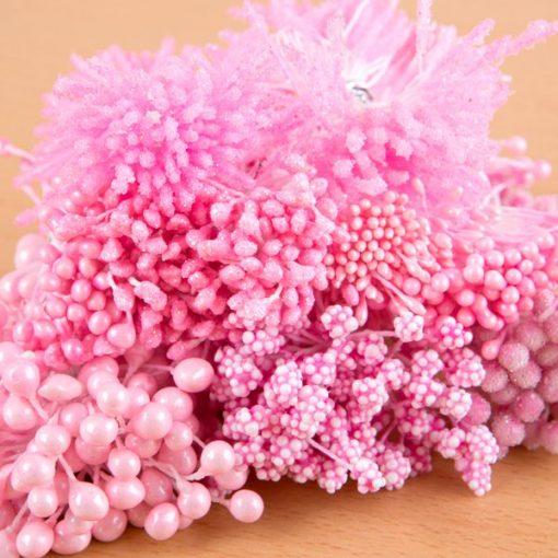 Pink Stamens