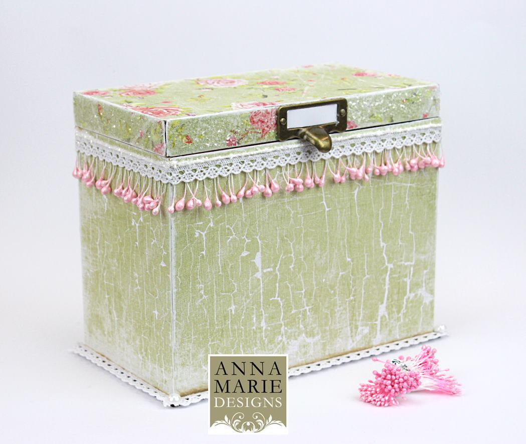 3d Mdf Storage Box With Tabs Large