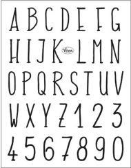 viva alphabet stamp