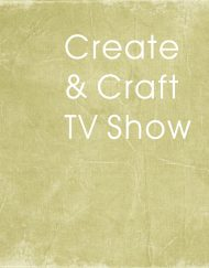 Create & Craft TV Show