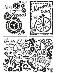 viva stencil past times