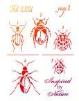 viva vintage beetles stencil