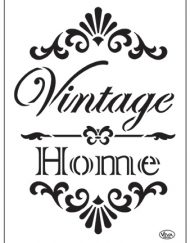 viva vintage home stencil