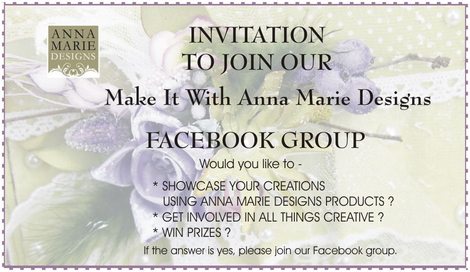 Make It with Anna Marie Designs - Facebook Group Page - Anna Marie