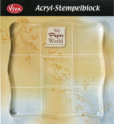 viva acrylic block pk 1