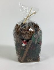 bag of Christmas forest