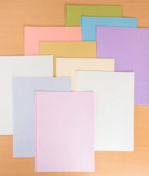 glitz pastel A3 card a