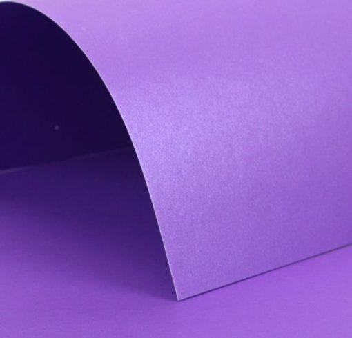 glitz violet pearl card