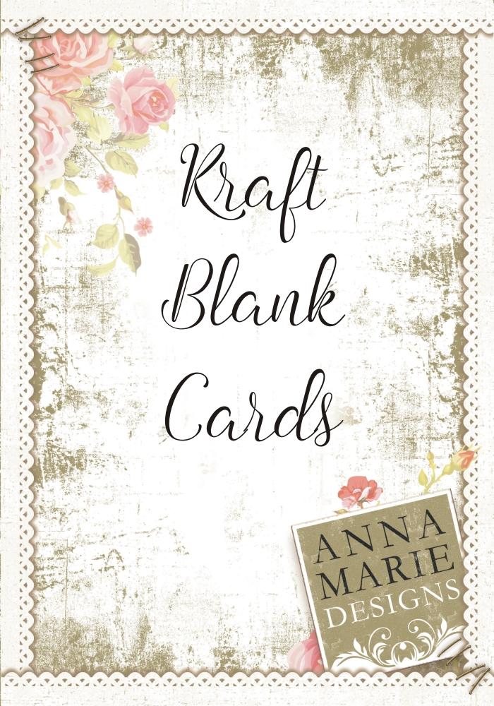 Pure Kraft Card Blanks & Envelopes