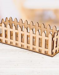picket fence basket