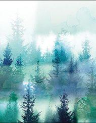 X FOREST FOG napkin