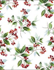 X WINTER FOLIAGE napkin