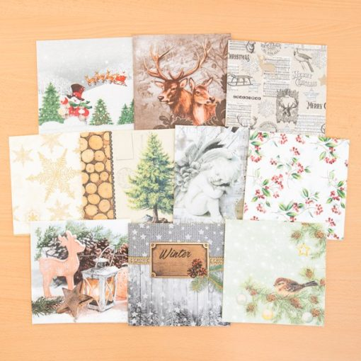 napkins christmas set 1 1