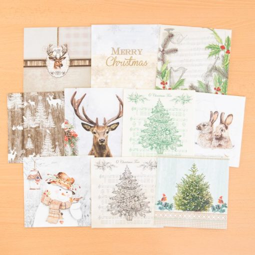 napkins christmas set 2