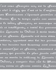 deco art old french script script